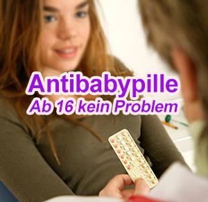 antibabypille ab 16 jahren kein problem