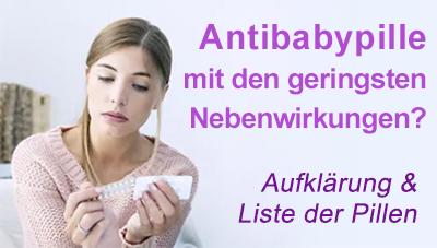 antibabypille geringe nebenwirkungen