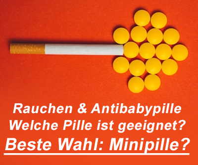 antibabypille rauchen minipille